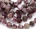 Pink Tourmaline Star Cut Round 10mm