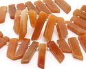 Red Aventurine Stick Slice Focal Set 9-11x26-35mm