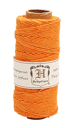 Pumpkin Pie Hemp Twine 20 lb, 205 ft