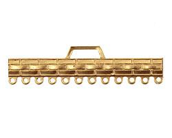 Brass Woven Bar 1-12 Link 12x48mm