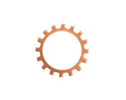 Copper Open Gear 19mm