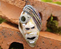 MAKUstudio Raku Punk Rock Face Focal 33x65mm