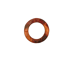 Patricia Healey Copper Small Lined Ring 15mm