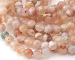 Natural Pink Agate Round 8mm