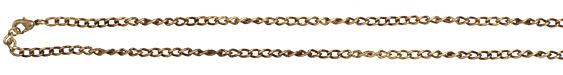 "Vintaj Vogue Finished Curb Chain 18"""