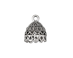 Zola Elements Antique Silver (plated) Carnival Tassel Cap 16x20mm
