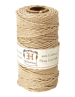 Natural Hemp Twine 48 lb, 205 ft