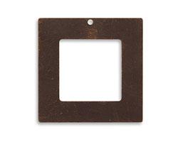 Vintaj Natural Brass Square Frame 29mm