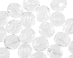 Czech Fire Polished Glass Crystal Round 10mm