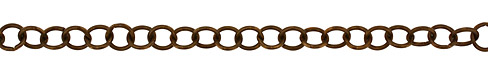 Vintaj Natural Brass Cable Chain
