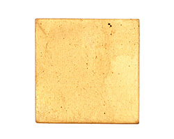 Brass Square Blank 29mm