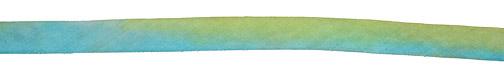 "Beach Glass Hand Dyed 100% Silk Ribbon 7/16"""