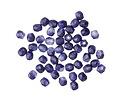 Czech Fire Polished Glass Deep Sapphire Round 3mm
