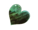 Zola Elements Turquoise Bullhorn Acetate Heart Focal 35mm