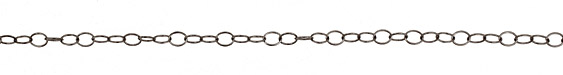 Gunmetal Oval Cable Chain