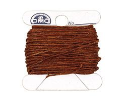 Walnut Brown Irish Waxed Linen 4 ply