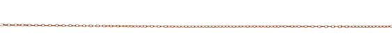 Rose Gold (plated) Stringing Cable Chain