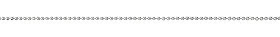 Silver (plated) Ball Chain (bulk discount)