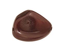 Tagua Nut Espresso Banana Chip 22-29x16-22mm