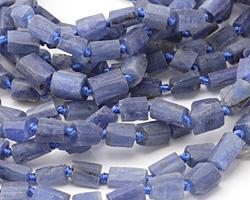 Kyanite Natural Cut Tube 5-9x5-7mm