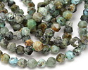 African Turquoise Star Cut Round 6mm