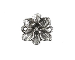 Green Girl Pewter Orchid Link 23mm