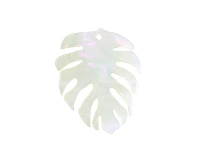 Zola Elements Green Opal Acetate Monstera Leaf Focal 32x40mm