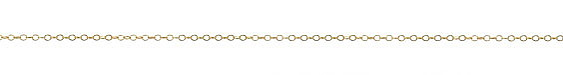 14K Gold Filled Dainty Oval Cable Chain