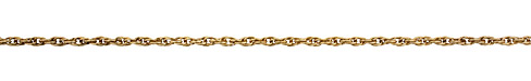 Antique Gold (plated) Rope Chain