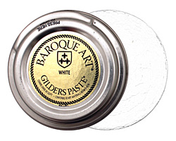 White Baroque Art Gilders Paste 30ml