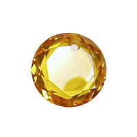 Sunshine Faceted Coin 16mm