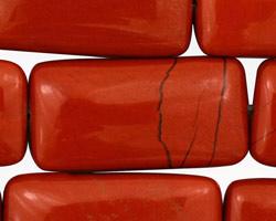 Red Jasper Thin Pillow 36x18mm