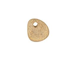 Yellow/Gold Beach Stone Pebble 9-14x12-14mm