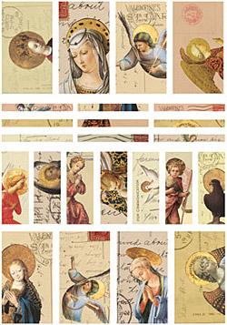 Nunn Design Angels Small Transfer Sheet