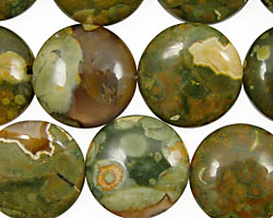 Rhyolite Puff Coin 18mm