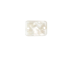 Zola Elements Pearl Acetate Rectangle Link 14x10mm