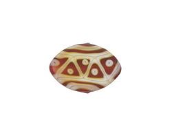 A Beaded Gift Fuchsia Opal Tribe Zulu 13x19mm