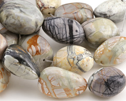 Picasso Jasper Large Tumbled Nugget 30-44x23-30mm