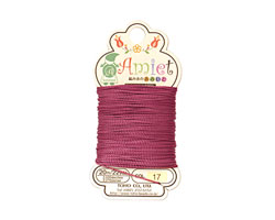 Burgundy Amiet Thread 22 yards