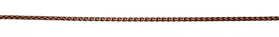 Antique Copper (plated) Wheat Chain