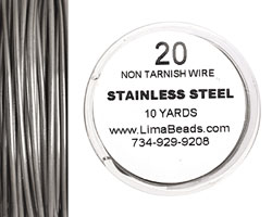 Parawire Stainless Steel 20 gauge, 10 yards