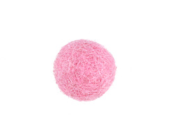 Rose Pink Felt Round 15mm