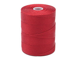 C-Lon Red Micro (.12mm) Bead Cord