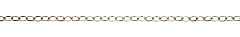 Antique Silver (plated) Oval Cable Chain