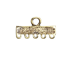 Greek Antique Gold (plated) 1-5 Link 14x25mm