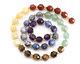 Chakra Mix (Amethyst, Lapis, Brazil Sodalite, Green Aventurine, Tiger Eye, Yellow Calcite, Red Jasper) Energy Tube 8x7mm