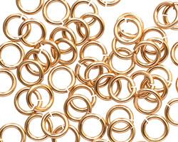 Bronze Jump Ring 7mm, 16 gauge