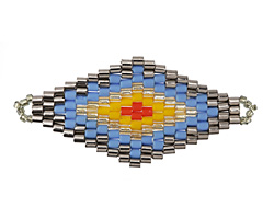 Sundance Hand Woven Diamond 43x20mm