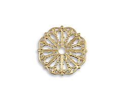 Vintaj Vogue Medallion Filigree 17.5mm