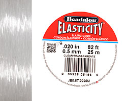 Elasticity Clear .5mm, 25 meters